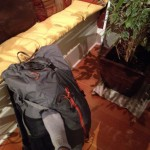 my light pack for months in Africa